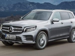 Mercedes-Benz GLB: patente é registrada no INPI