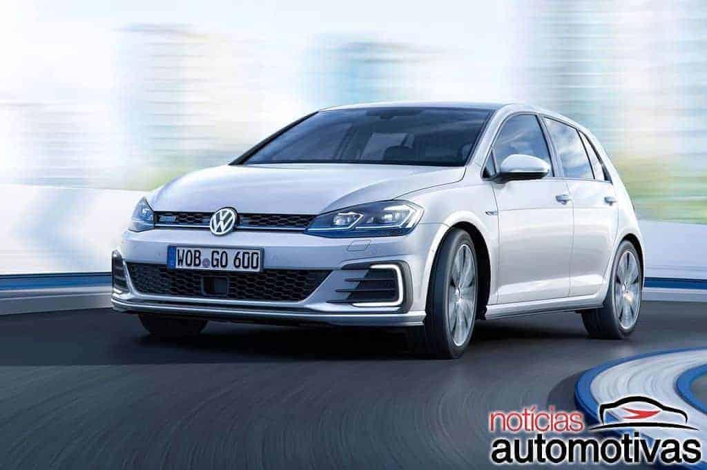 450ff0e6d882a Volkswagen promete Golf GTE para 2019 e mostra Passat GTE no salão