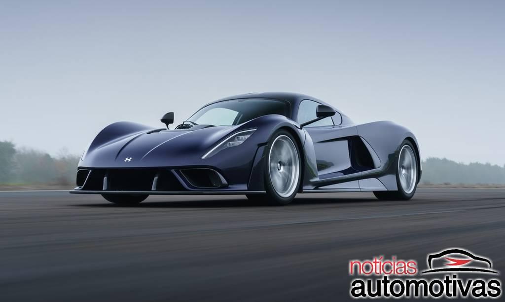 Hennessey Venom F5 tem 1.842 cavalos e passa de 500 km/h!