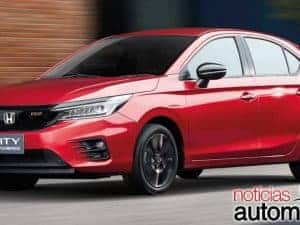 Novo Honda City hatch surge na Índia e confirma 1.0 Turbo de 122 cv