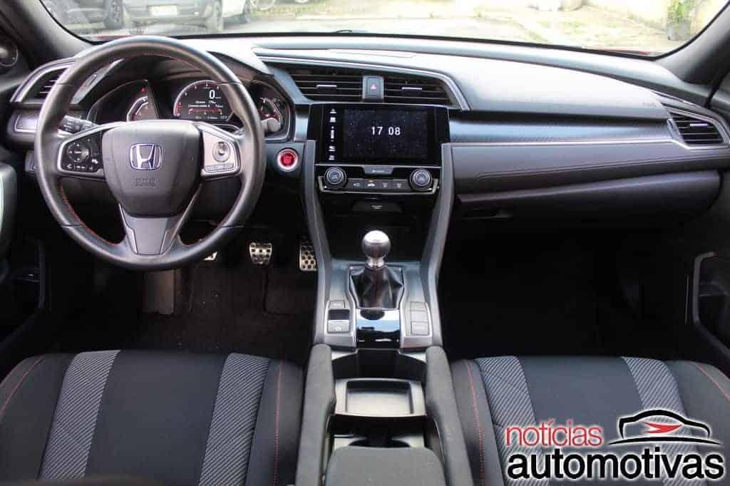Avaliação: Honda Civic Si Coupé 2019 é empolgante e eficiente