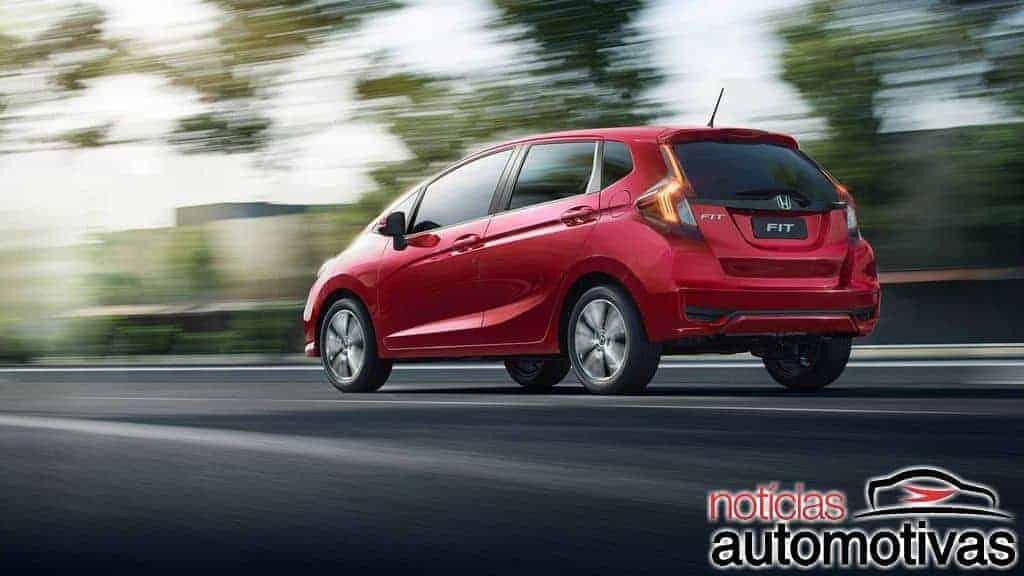 Honda Fit 2019 ganha mais conteúdo e parte de R$ 60.500