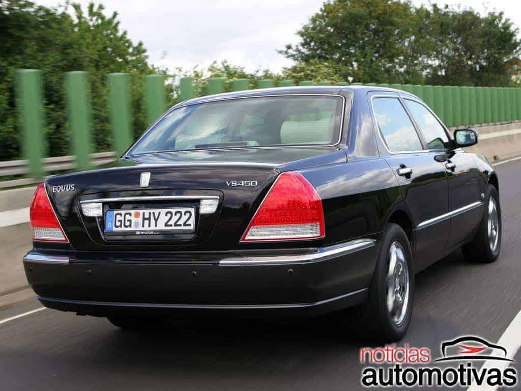 Hyundai Equus: tudo sobre o máximo de luxo da marca coreana