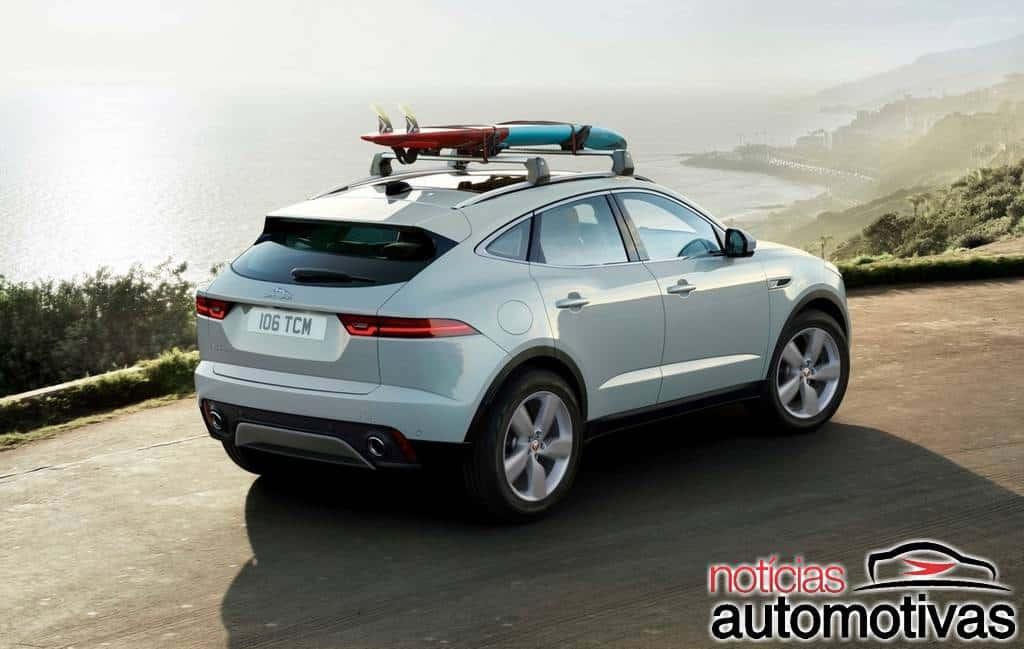 Jaguar E-Pace ganha visual atualizado e versão híbrida plug-in