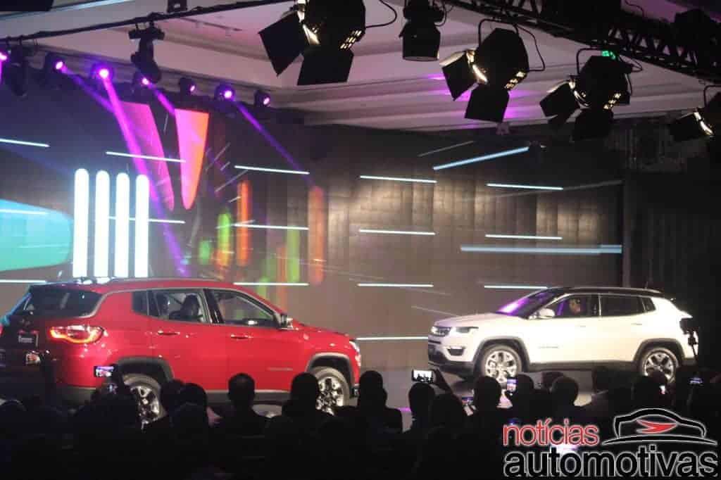 Jeep Compass chega em quatro versões a partir de R$ 99.990