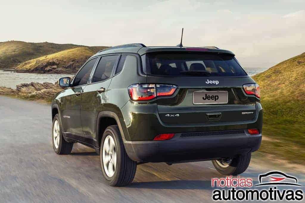 Jeep lança Compass Sport 4x4 flex 2018 pelo preço de R$ 117.990