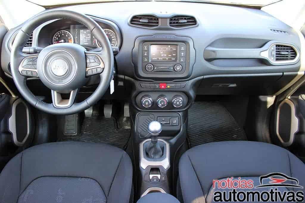 Jeep Renegade Sport 1.8 Flex sofre com baixa potência e consumo alto