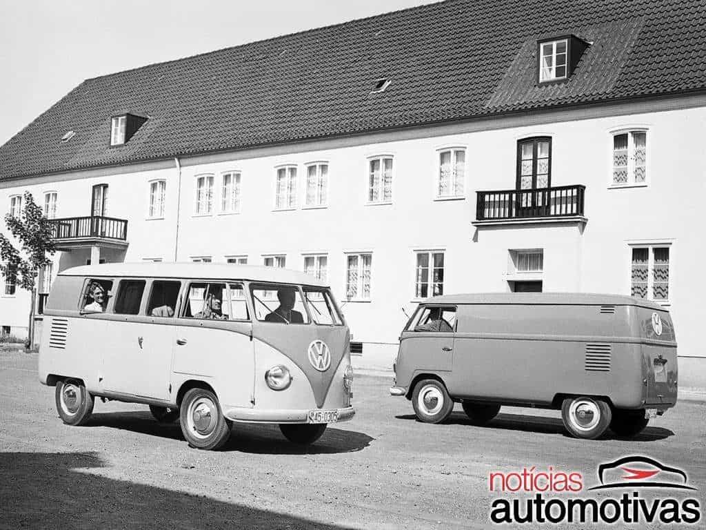 Kombi: 70 anos e 13 milhões de comerciais vendidos pela Volkswagen
