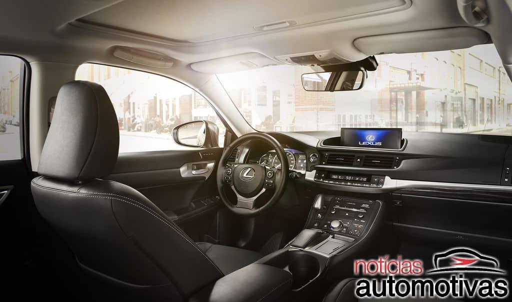 Lexus CT200h 2018 chega renovado ao Brasil e com preços a partir de R$ 135.750