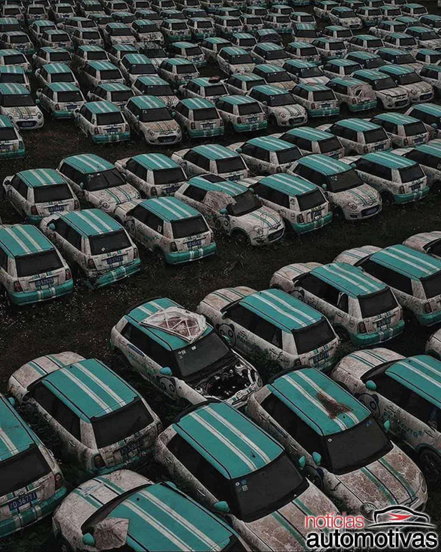 Carro elétrico nem bem chegou e já está em cemitério na China