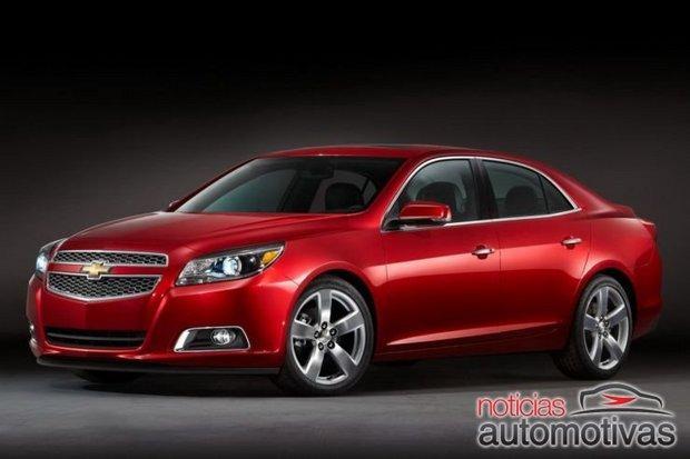 malibu 2012 oficial 2 Chevrolet Malibu 2012 tem detalhes oficiais revelados