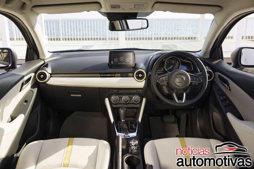Mazda 2 Sunlit Citrus ganha motor de alta compressão no Japão