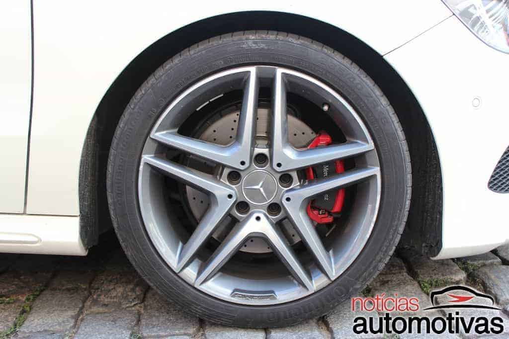 Mercedes A250 Turbo Sport: boa performance (e pouco conforto)