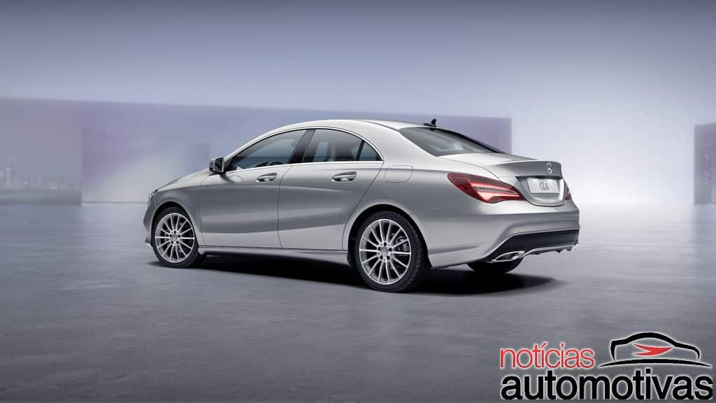 Mercedes-Benz CLA 2017 chega atualizado e com preços a partir de R$ 156.900