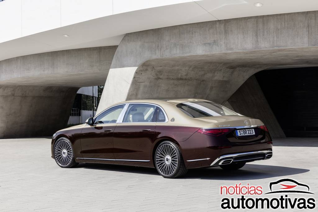 Mercedes-Maybach Classe S 2021 surge na China