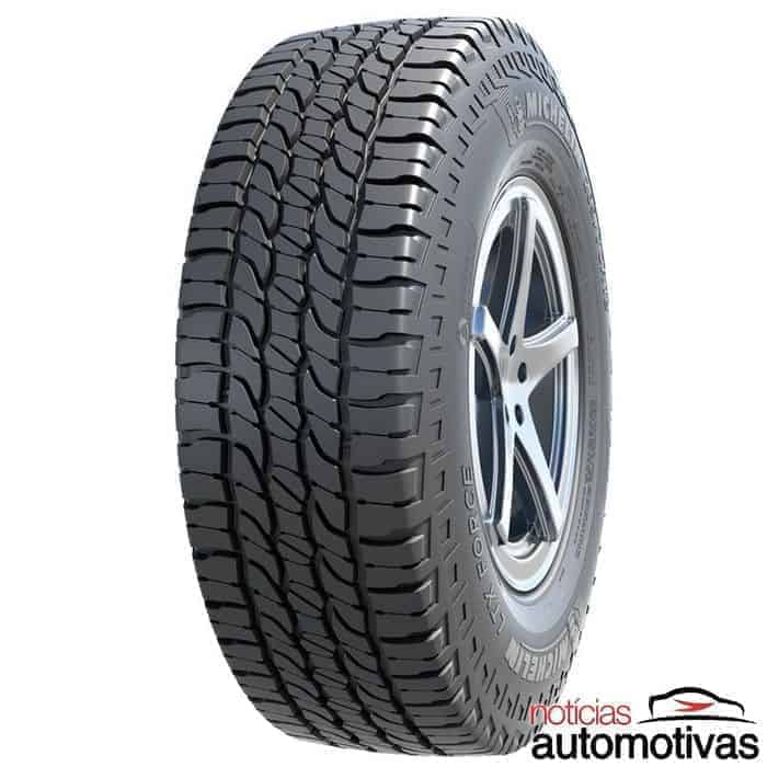 Michelin LTX Force: pneu misto melhora performance de picapes, SUV
