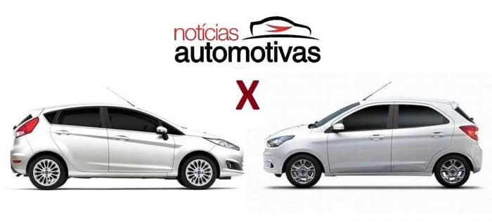 Comparativo: Ford New Fiesta S 1.5 x Novo Ford Ka SE Plus 1.5
