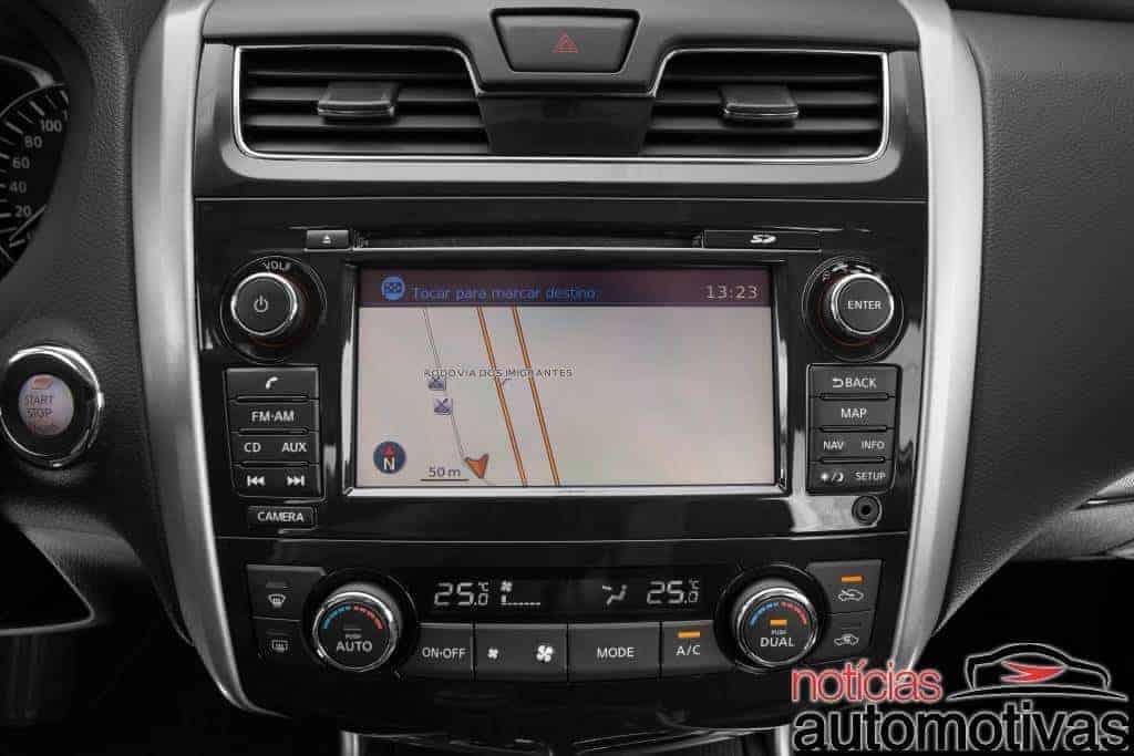 Nissan Altima 2.5 SL apresenta bom consumo em nossa avaliação