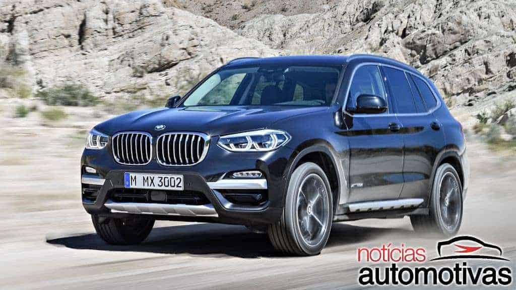 Em nova geração, BMW X3 chega com preços a partir de R$ 309.950