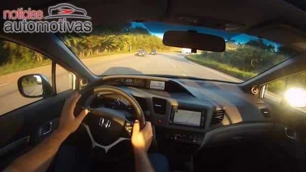 Avaliação NA - Civic 2012 (4) - Comportamento e consumo na estrada