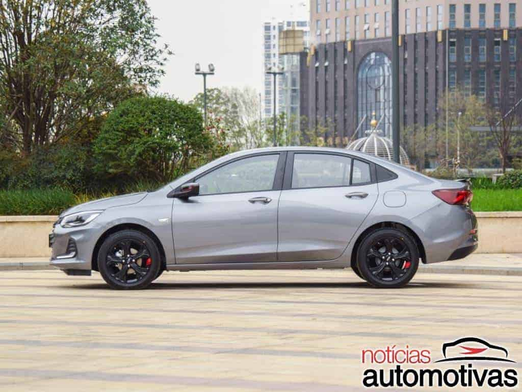 Novo Chevrolet Onix Sedan 1.0 Turbo parte de R$ 57,6 mil na China