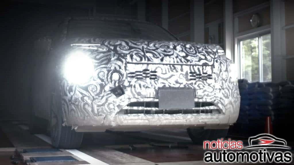Próximo Mitsubishi Outlander aparece em testes antes da estreia