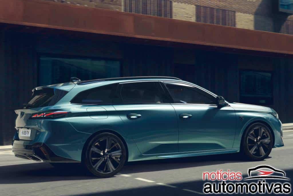 Projeção: Peugeot 308 Cross Coupé seria bem interessante