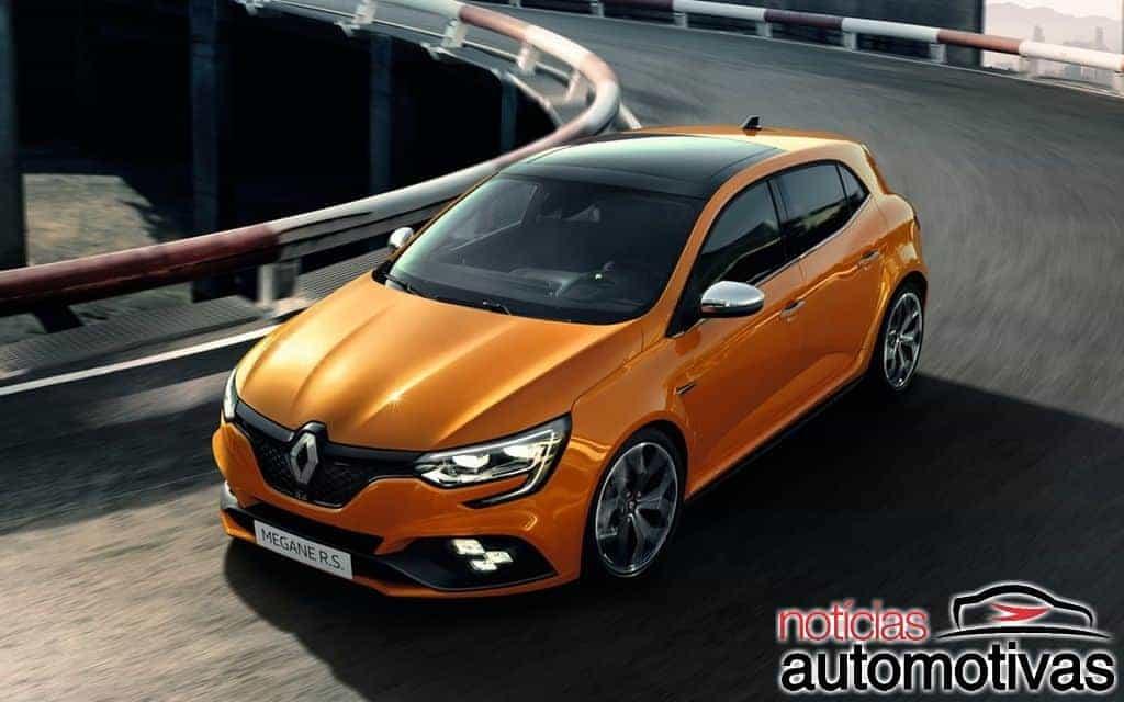 Renault Megane R.S. 2018 surge finalmente com 280 cv