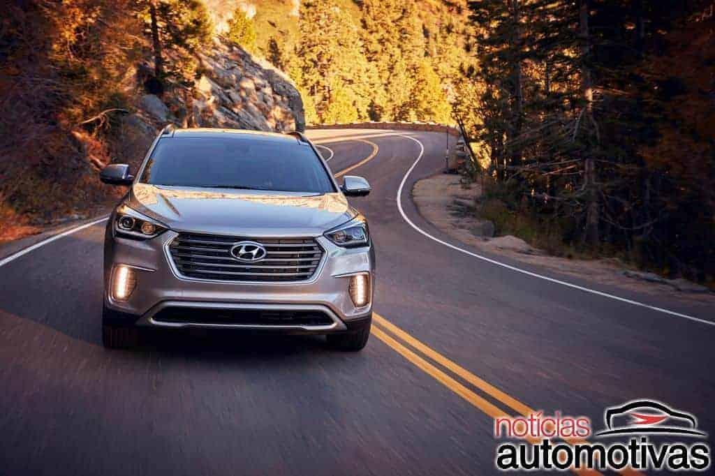 Hyundai Santa Fé XL de sete lugares parte de US$ 31.830 nos EUA