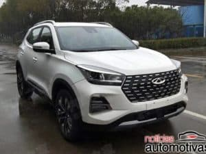 Chery Tiggo 5x ganha visual retocado na China