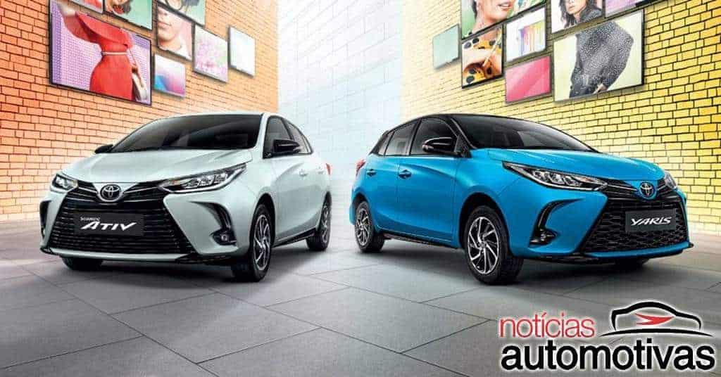 Toyota Yaris 2021 hatch aparece na Tailândia e logo estará no Brasil