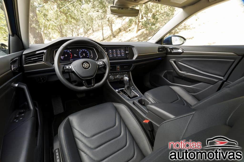 Volkswagen Jetta 2019 tem patente registrada no Brasil