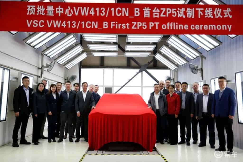 Volkswagen ID Space Vizzion pode ter iniciado produção na China