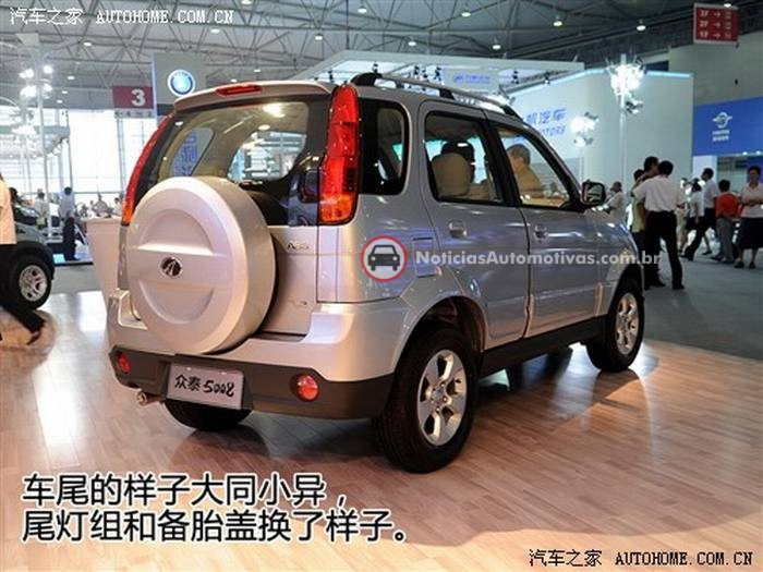 zotye-5008-terios-revive-na-china-2 Zotye 5008: Terios revive na China